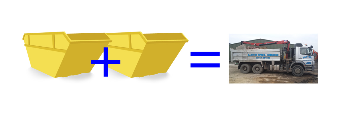 Skip + Skip = Grab Wagon