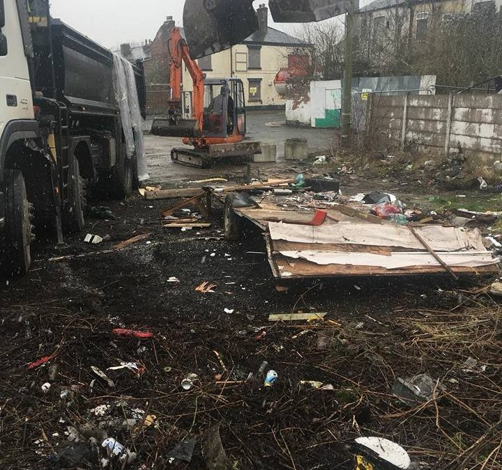 Site Clearance – When fly tippers strike