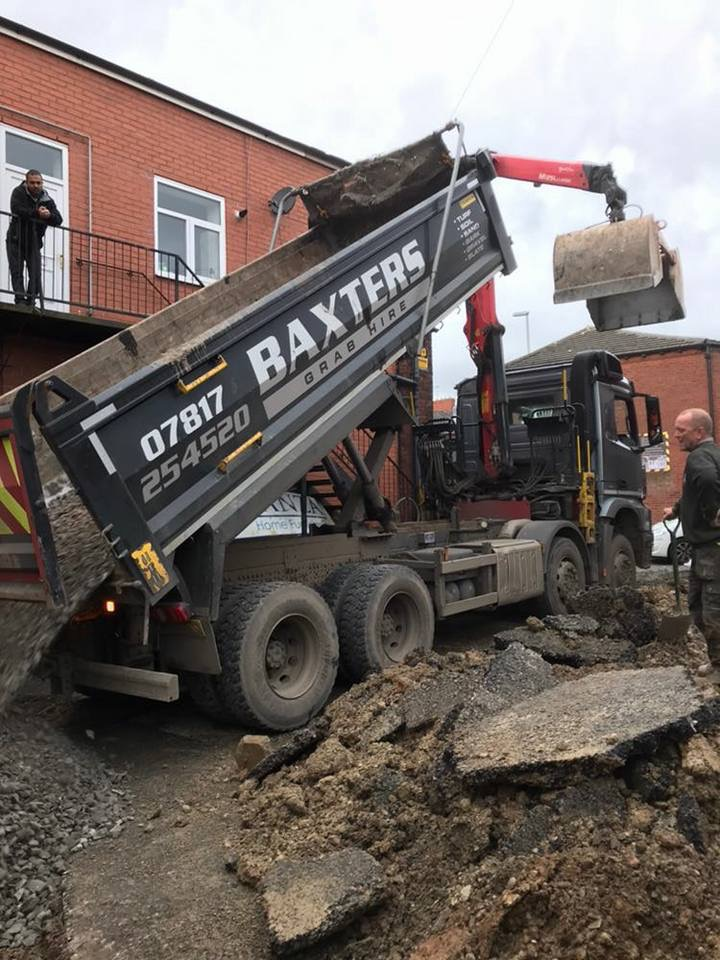 Stone Delivery and Muck Away – All in one