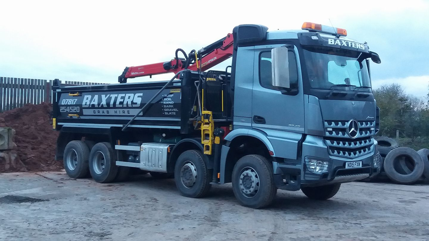 Baxter Grab Hire - 6 Wheel Truck