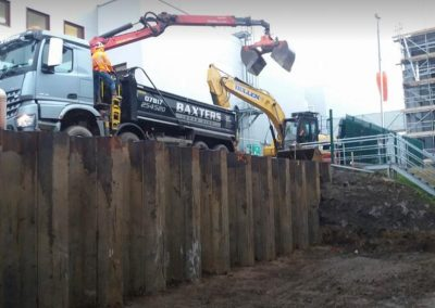 Bulk Excavation & Supply of Stone for a new Warehouse