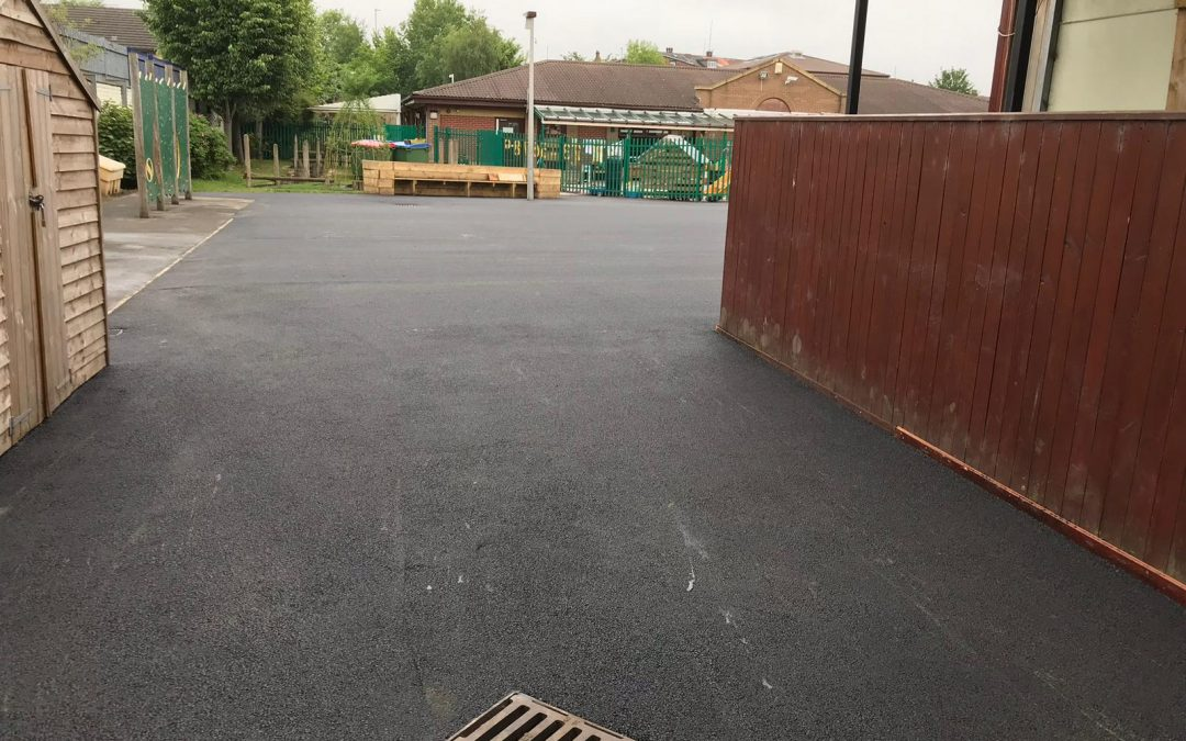Resurfacing a School Playground